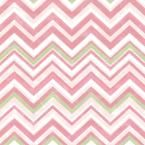 Susie Pink Chevron Wallpaper Sample