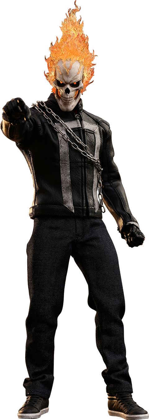Hot Toys Ghost Rider Sixth Scale Figure