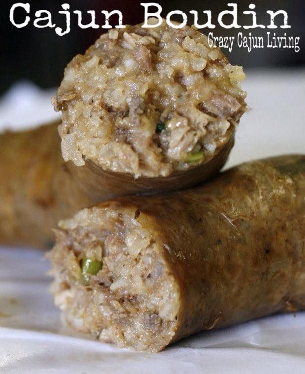 How to Make Boudin  Cajun boudin, unlike the French version, is made from a mixture of meat, rice, and fresh herbs that is spiced up considerably with red pepper.
