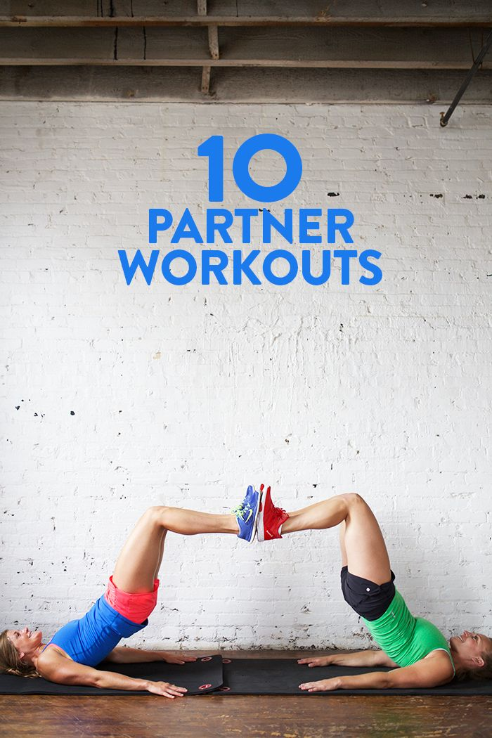 Grab a pal and get sweaty! Here's 10 fabulous partner workouts that you can do with a friend!