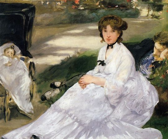 In the Garden Edouard Manet