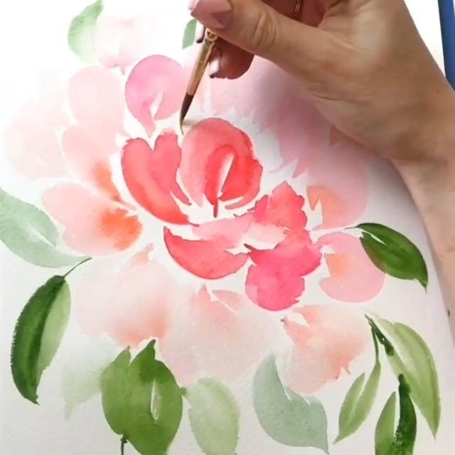Gorgeous Watercolor Art Painting Sketchbook Regram Via
