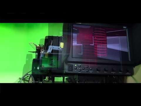 Backstage im virtuellen 3D-Studio von schuhplus - Schuhe in Übergrößen. Der Spezialist für große Damenschuhe sowie große Herrenschuhe setzt auf innovative Technologie im Videomarketing. Mehr unter https://www.schuhplus.com/mediathek/