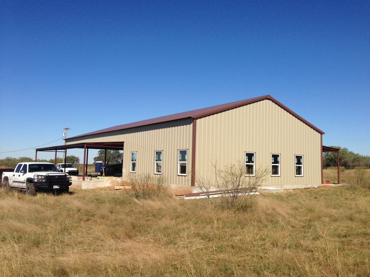 Best 25 barndominium texas ideas on pinterest for Shop with living quarters cost