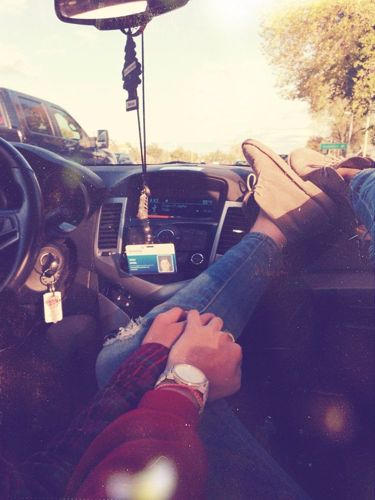 I do this with my honey bunny, on our car rides home from the beach. It seems to be a summer tradition of ours. He just laughs every time I put my feet on the dashboard...