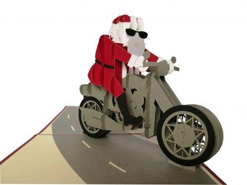 Kartka 3D Święty Mikołaj