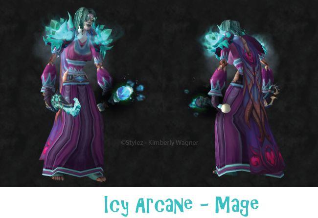 Icy Arcane Mage Transmog!  #wow #warcraft #worldofwarcraft #transmog #mage http://transmogsbycentaura.wordpress.com/