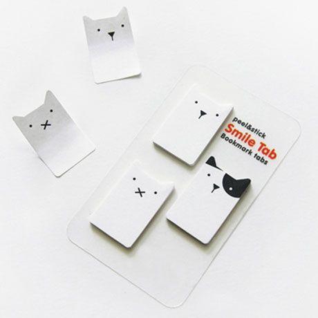 Animal Bookmark Tabs - Dogs