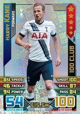 Harry Kane 100 Club Match Attax 2015/16