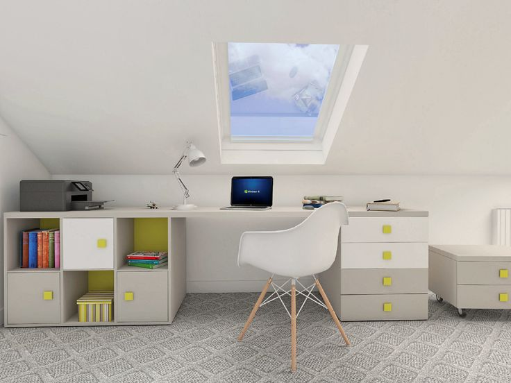 Our project of attic desk.