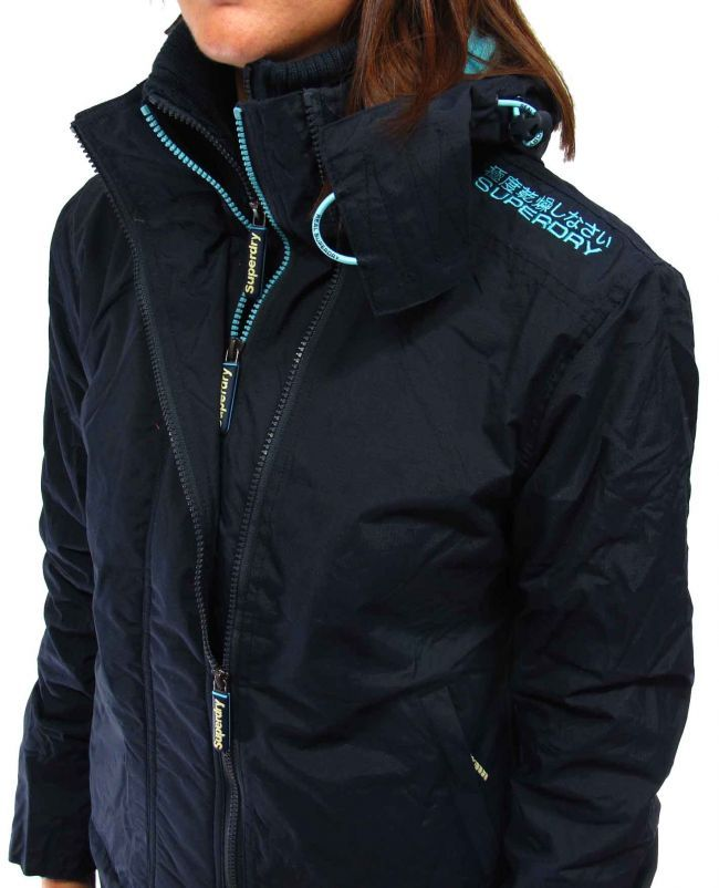 super dry clothing women | superdry-womens-superdry-fashion-clothing-womens-windcheater-navy ...