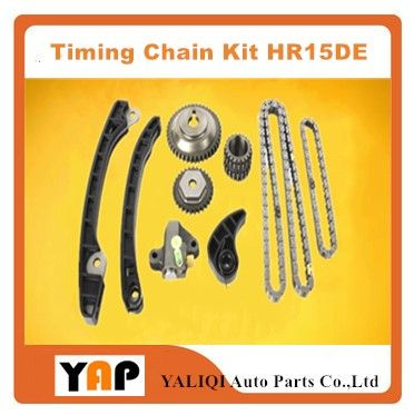 Timing Chain Kit FOR FITNISSAN Almera Tino Cube Primera P11 Z11 V10 N15 HR15DE 1.5L L4 TK627 1995-2006 #Affiliate