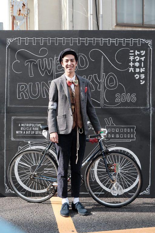 """ツイード ラン トーキョー(Tweed Run Tokyo)実行委員会は10月23日、""""ツイード""""がドレスコードの第5回「ツイード ラン トーキョー 2016」を開催した。2009年にイギリスから始まり、自転車の正しい乗り方やマナーをPRしながら、自転車をもっと楽しむためにおしゃれをして走ることを目的とした同イベント"""