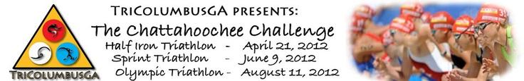 The Chattahoochee Challenge - Triathlon in Columbus Georgia  8/11/2012: 1500 M Swim, 24.9 M Bike, 6.2 M Run