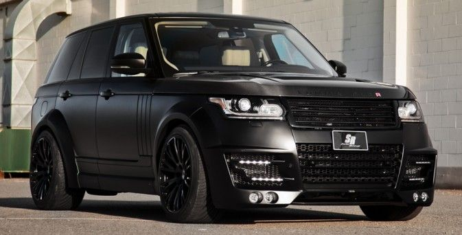 Used Range Rovers For Sale >> Matte Black Lumma Design Range Rover CLR R | Machine | Pinterest | Range rovers, Matte black and ...