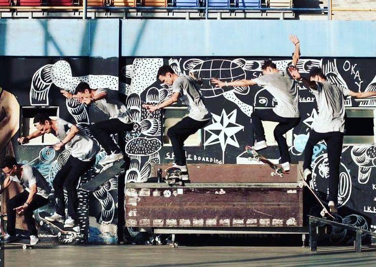 @kieronbrodie with a quick tail to shove @alang__rza #skateboarding #skateeverydamnday @laksamanaskateboards @foreverdynamite