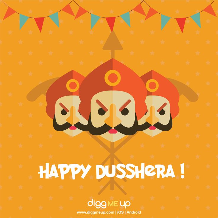 Wishing Everyone A Very Happy Dussehra! #design #festival #dussehra  #graphic #