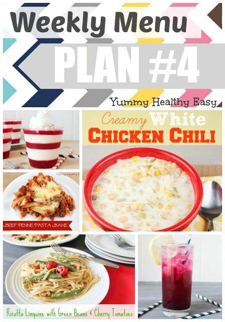 Weekly Menu Plan #4