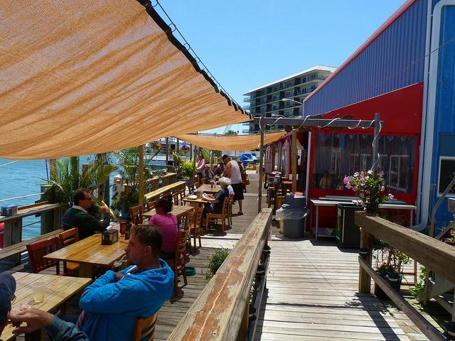 Dolphin view restaurant new smyrna beach fl resorts for New smyrna beach fishing spots