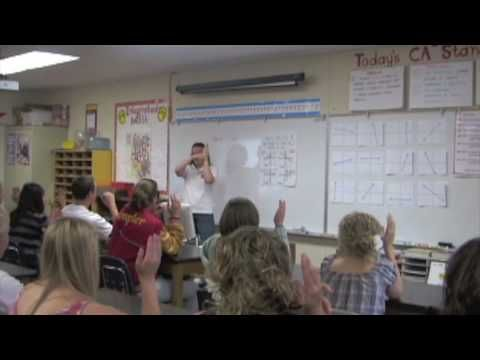 """LOVE THIS!!  Check out the level of student engagement, the quick transitions, and the effective """"check for understanding"""" at the end of the lesson.  Fantastic!      From YouTube: Watch Kristin DeWit, veteran Whole Brain Teacher, guide her class through a lively geometry lesson."""