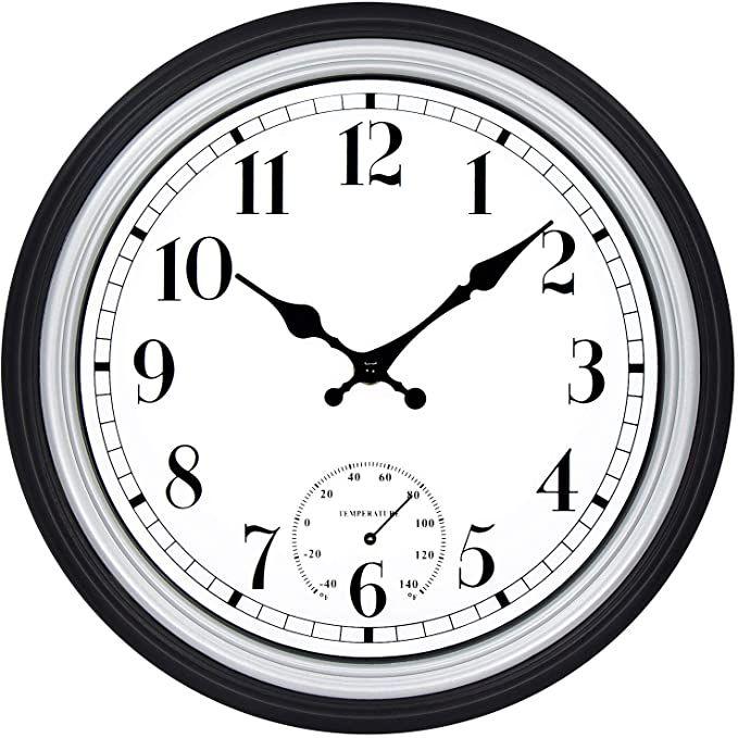 Simple Modern White Round Wooden Wall Clock 11 Inch Non T Https Www Amazon Com Dp B06y2tshpc Ref Cm Sw R Pi Dp U X Ab2 Wall Clock Modern Clock Wall Clock