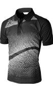 Xpril Men's Cool Max Fabric Sporty Design Printed Polo T-Shirt - Visit to see more options