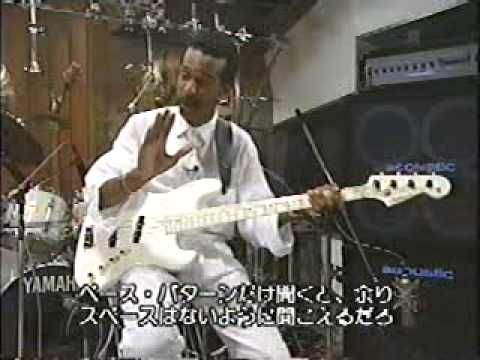 Larry Graham Super Bass Slapping FULL Larry Graham & his luscious bass