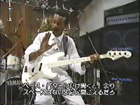 Larry Graham Super Bass Slapping FULL Larry Graham & his luscious bass