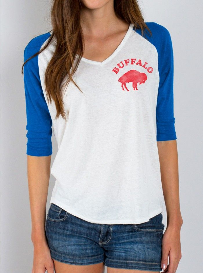 If you can't pry your dad's vintage Bills gear from his clutches don't worry; Junk Food Clothing has got you covered.