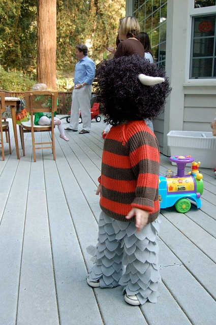 Wild Thing Costume by mgtrott, via Flickr