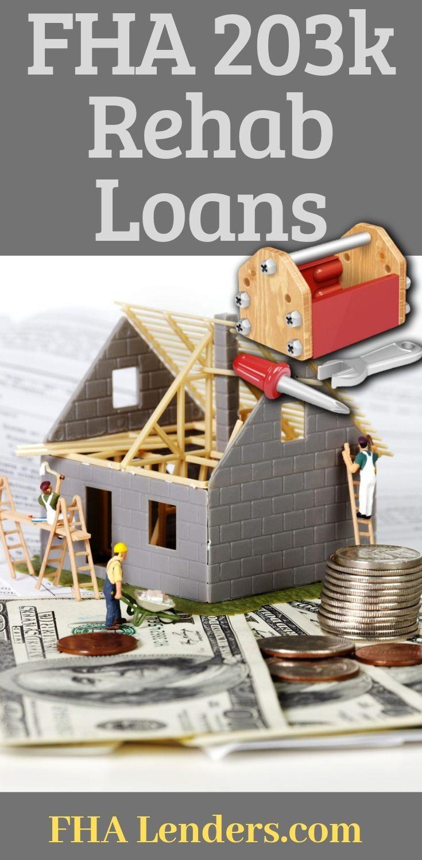 Fha 203k Loan Requirements For 2020 Fha 203k Loan Loan