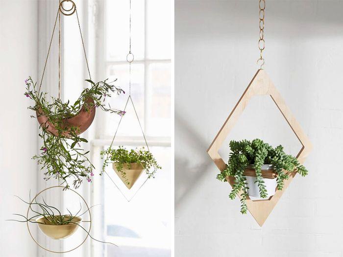 Подвесные кашпо для цветов: DIY и не только – Своими руками