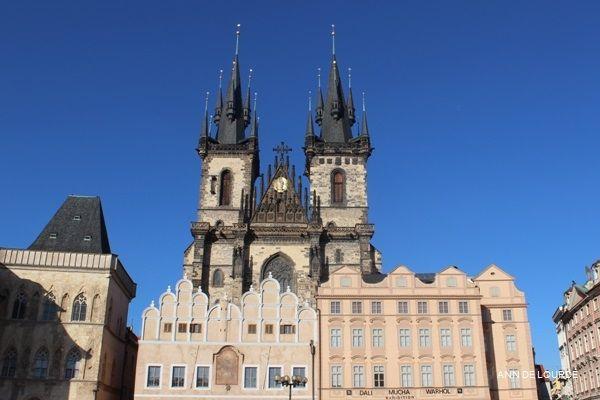 Church of Our Lady before Týn, Chrám Matky Boží před Týnem, Spring 2017, Old Town Square, Staroměstské Náměstí, Praha, Česká Republika.