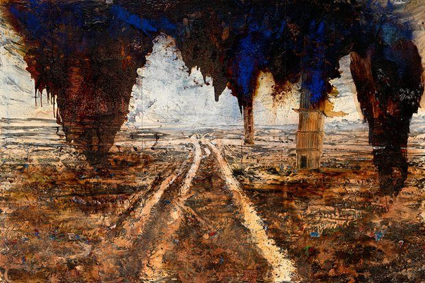 Anselm Kiefer's Rorate caeli desuper, 2016.