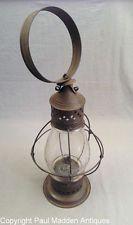 Antique Martha's Vineyard Camp Ground Whale Oil Lantern