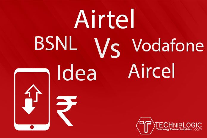 Karnataka 3G Prepaid Mobile Data Plans Comparison 2016 Airtel Vs Vodafone Vs Idea Vs Aircel Vs BSNL