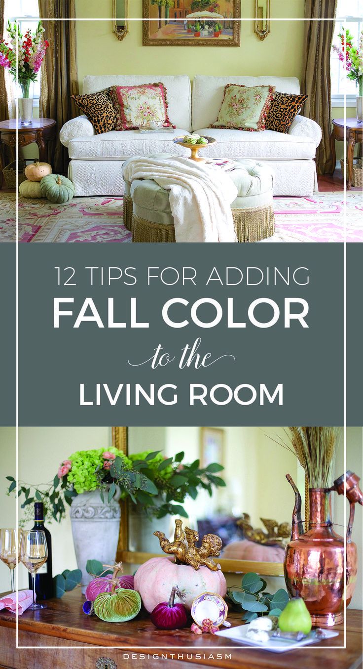 Hometalk diy christmas window decoration - 12 Tips For Adding Fall Color To The Living Room