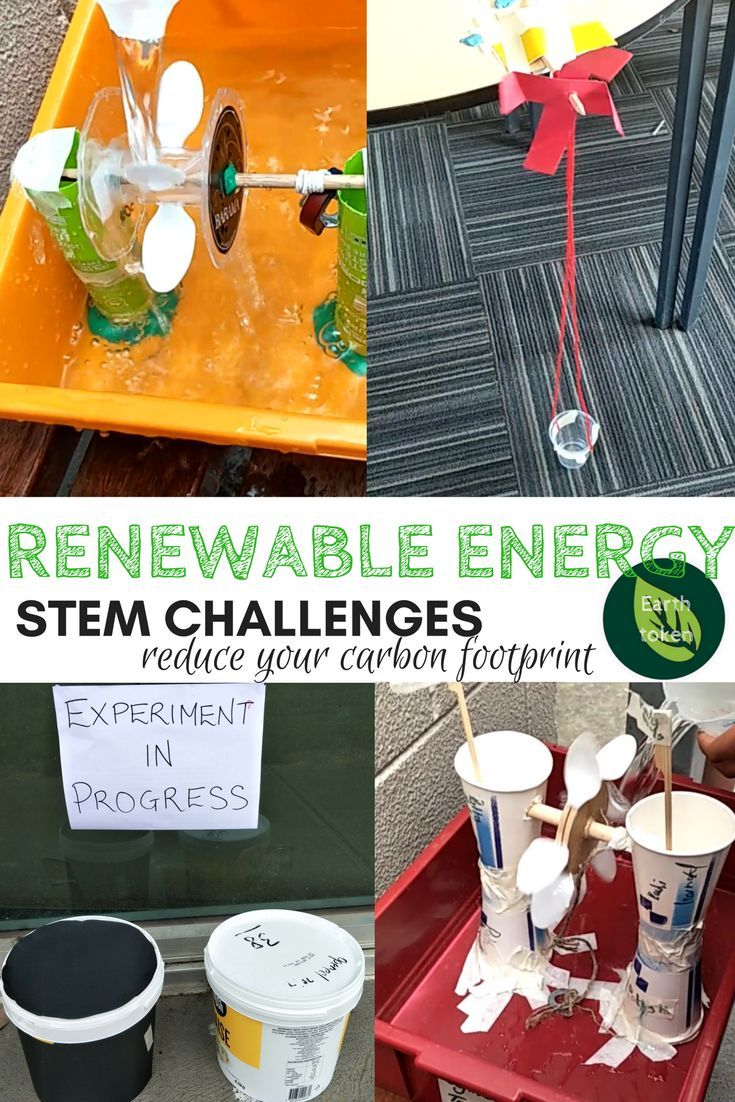 Renewable Energy STEM Challenges. Do you want to challenge your students and learn something about Hydro electricity? Wind Turbines and Solar Power? These challenges include facts about each energy source. The student reflection booklet allows students to think about their engineering design and make changes if needed. Students can earn Earth Tokens along the way, to reduce their carbon footprint.  #STEM #activities #challenges #engineering #printable #classroom #teacherspayteachers