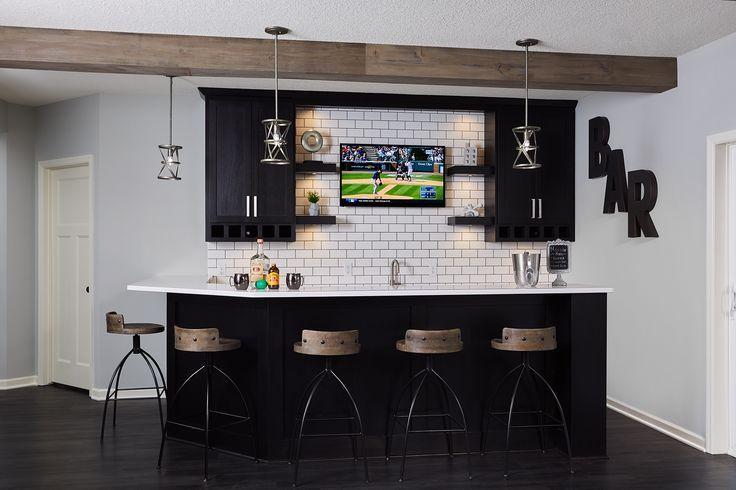 Projects Sneak Peek Design Man Cave Home Bar Basement Bar