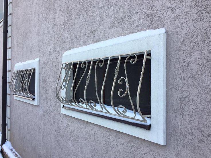 Решётки с ковкой на окна