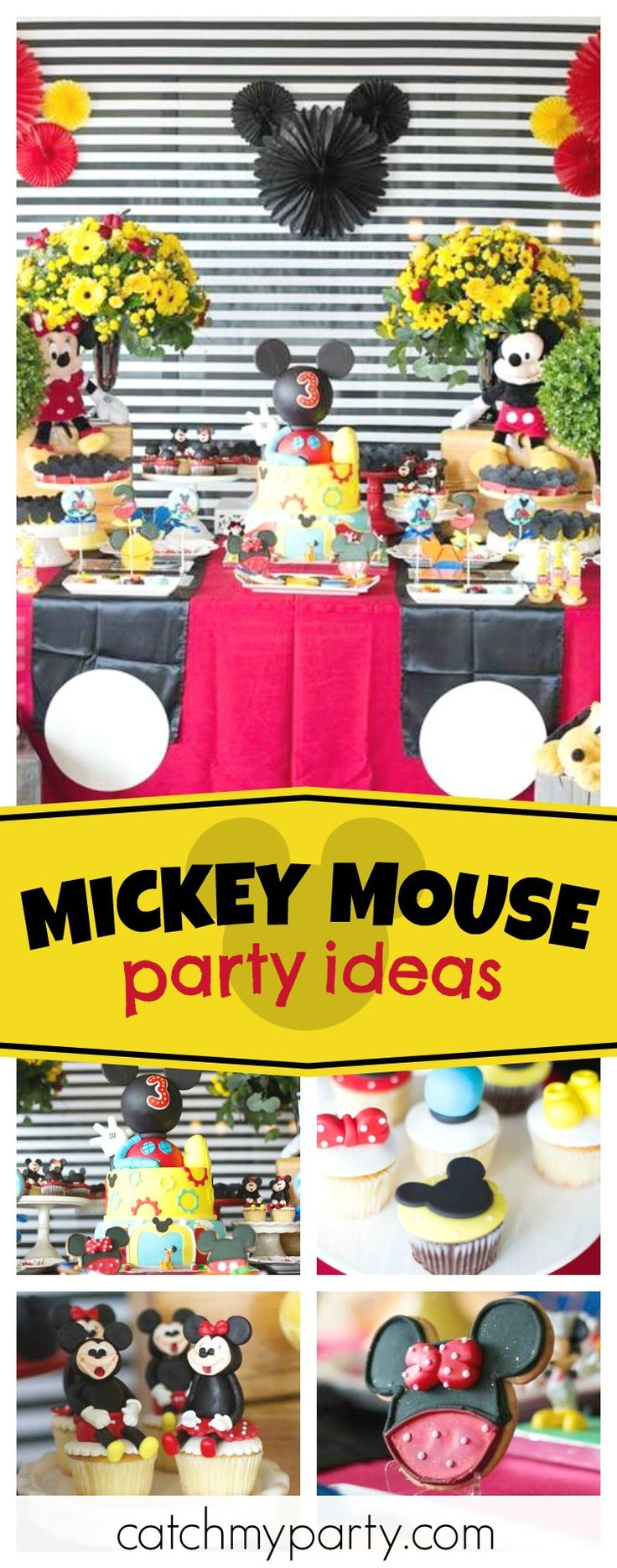 782 best Mickey Mouse Party Ideas images on Pinterest