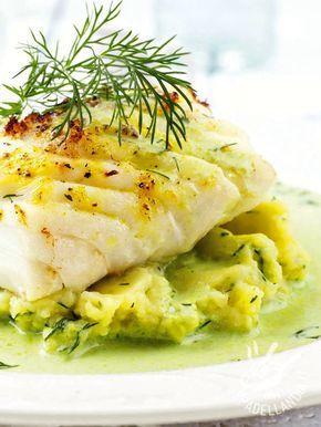 Fillets of cod with mashed fennel - I Filetti di merluzzo con purè al finocchio è un piatto profumato e sfizioso, preparato con pochi ingredienti ipocalorici.