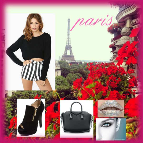 """paris"" by angiedayana on Polyvore"