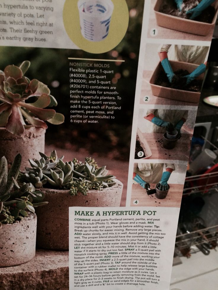 How to make a faux  stone planters ...using lowes products(home builder store) pg 5