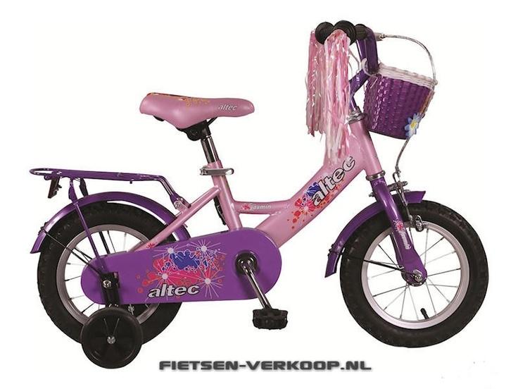 Meisjesfiets Altec Jasmin 12 Inch | bestel gemakkelijk online op Fietsen-verkoop.nl