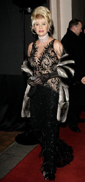 Ivana Trump Photos Photos - Ivana Trump arrives at Andy & Patti Wong's Chinese New Year Party at Madame Tussauds on January 27. 2007 in London, England.  This year's burlesque-themed party sees in the Chinese year of the Pig. - Andy And Patti Wong Chinese New Year Party