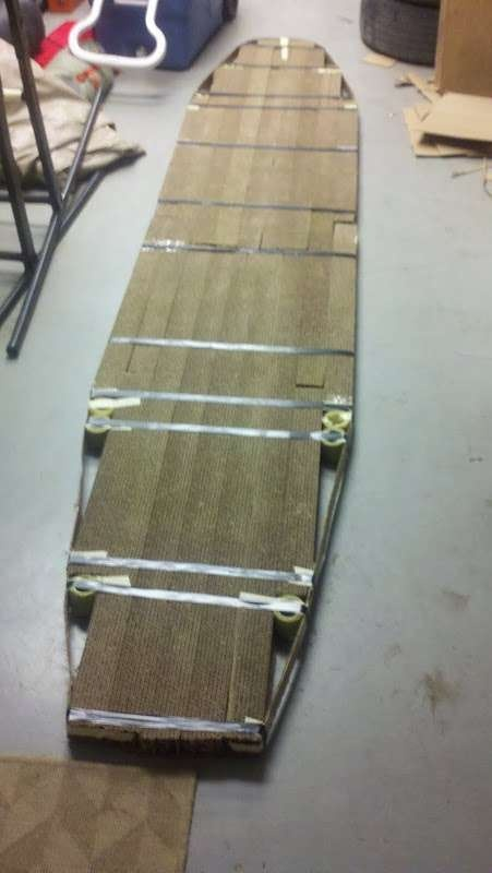 Cardboard Stand Up Paddleboard Cardboard Recycling