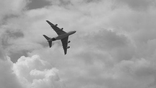 A380 fly away