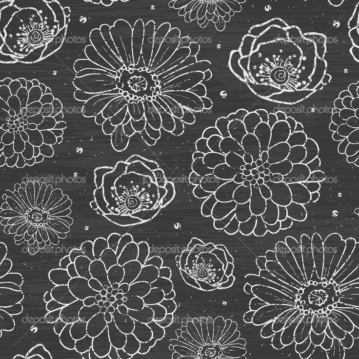 depositphotos_37652011-Chalk-flowers-blackboard-seamless-pattern.jpg (immagine JPEG, 1024 × 1024 pixel)