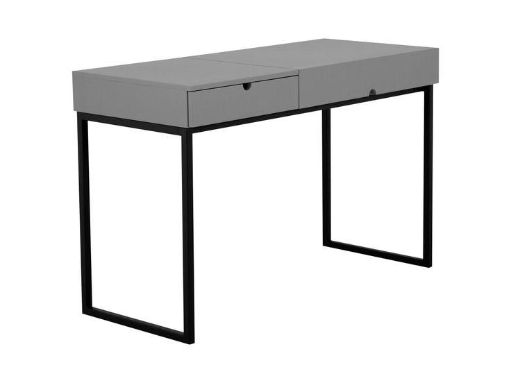 SYMPHONY Skrivbord Svart/Grå - Skrivbord - Kontor - Inomhus